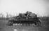 Guerre 1939-1945. Tank allemand Panzer IV détruit à Hottot-les-Bagues lors de la bataille pour la libération de Caen, sur le Front de Normandie (Calvados), juillet 1944. © LAPI/Roger-Viollet
