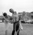 "Alain Delon, Mylène Demongeot and Pascale Petit during the shooting of ""Faibles Femmes"" by Michel Boisrond. France, October 1958.      © Alain Adler / Roger-Viollet"