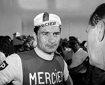 Raymond Poulidor (1936-2019), French racing cyclist, winner of the Tour of Spain 1964. © Roger-Viollet
