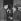 Luc Bérimont (1915-1983) et Boris Vian (1920-1959), écrivains français.  © Studio Lipnitzki/Roger-Viollet