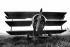 World War I. German triplane fighter Fokker Dr 1 of 1917. Former aircraft of Manfred von Richthofen (1892-1918), German fighter pilot. © Jacques Cuinières / Roger-Viollet