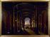 """""""Vue intérieure de l'ancienne gare Saint-Lazare"""", vers 1845. Paris, musée Carnavalet.  © Musée Carnavalet/Roger-Viollet"""