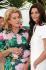 """Catherine Deneuve (née en 1943) et sa fille Chiara Mastroianni (née en 1972), actrices françaises, lors d'une conférence de presse pour la sortie de """"Un conte de Noël"""", film d'Arnaud Desplechin. France, 2008. © TopFoto/Roger-Viollet"""
