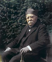 Georges Clemenceau (1841-1929), French statesman (reframed photograph). Photograph by Henri Manuel (1874-1947). © Henri Manuel / Roger-Viollet