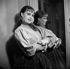 """Jeanne Moreau dans """"Les Caves du Vatican"""" d'André Gide. Paris, Comédie Française, décembre 1950. © Studio Lipnitzki/Roger-Viollet"""