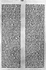 """La Bible de Gutenberg (XVème siècle). """"Le Sermon sur la montagne"""". Vienne (Autriche), bibliothèque nationale. © Roger-Viollet"""