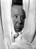 Alfred Hitchcock (1899-1980), cinéaste américain. Hollywood (Etats-Unis), Hôtel Claridges, 25 avril 1966.  © TopFoto / Roger-Viollet
