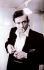 Johnny Cash (1932-2003), chanteur et musicien américain. Etats-Unis, vers 1960. © TopFoto / Roger-Viollet