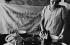 Polish migrant woman cooking. Pas-de-Calais (France) 1930-1935. © Roger-Viollet
