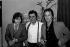 Daniel Guichard, Gilbert Bécaud and Alain Delon. Paris, Olympia, 1977. © Patrick Ullmann / Roger-Viollet