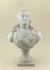 Anonymous. Bust of Jean-Paul Marat (1743-1793), French politician. Revolutionary ceramic, 1793-1794. Paris, musée Carnavalet. © Françoise Cochennec / Musée Carnavalet / Roger-Viollet