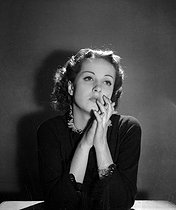 Danielle Darrieux (1917-2017), French actress. Paris, March 1935. © Boris Lipnitzki/Roger-Viollet