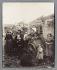 Ragmen at the Porte d'Asnières, cité Valmy, zone of Fortifications. Paris (XVIIth arrondissement), 1913. Photograph by Eugène Atget (1857-1927). Paris, musée Carnavalet. © Eugène Atget / Musée Carnavalet / Roger-Viollet