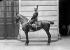 Capitaine des pompiers de Paris en tenue de revue. © Maurice-Louis Branger/Roger-Viollet