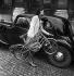 Small B.G.G., portable bike, circa 1945-1950. © Pierre Jahan / Roger-Viollet