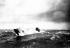 Guerre 1914-1918. Sous-marin allemand pendant une tempête. © US National Archives/Roger-Viollet