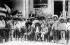 Emiliano Zapata (1879-1919), révolutionnaire mexicain, avec ses partisans, pendant la révolution mexicaine de 1910-1915. 1914. © Ullstein Bild/Roger-Viollet