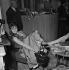 "Tournage de ""En effeuillant la marguerite"" de Marc Allégret. Brigitte Bardot. France, 1956. © Boris Lipnitzki / Roger-Viollet"