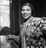 Marian Anderson (1897-1993), American opera singer. Paris, vers 1955. © Gaston Paris / Roger-Viollet