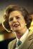 Margaret Thatcher (1925-2013), Premier ministre britannique. © Roger-Viollet