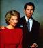 Charles et  Diana, prince et princesse de Galles. Portrait officiel pris lors de leur tournée en Australie, 25 janvier 1988.   © TopFoto/Roger-Viollet
