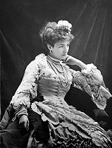 Sarah Bernhardt (1844-1923), French stage actress. © CAP/Roger-Viollet