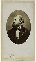 Charles Gounod (1818-1893), French composer. Visiting card (recto). Photograph by Carjat & Cie, 1860-1890. Paris, musée Carnavalet. © Carjat & Cie / Musée Carnavalet / Roger-Viollet
