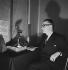 Jean Giraudoux (1882-1944), French writer. Paris, October 1939.  © Boris Lipnitzki / Roger-Viollet