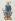 """Chailly. """"Figure de Philippe Auguste, (Histoire des Rois de France par Dutiller)"""". Paris, musée Carnavalet.  © Musée Carnavalet/Roger-Viollet"""
