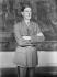 Charles De Gaulle (1890-1970), chef de la France Libre, en 1944-1945. © Roger-Viollet