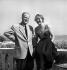 Jean Delannoy et Madeleine Robinson. Festival de Venise, 1950. © Studio Lipnitzki/Roger-Viollet