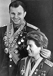 Valentina Tereshkova et Iouri Gagarine, cosmonautes soviétiques. 1965. Photo : Valery Shustov. © TopFoto / Roger-Viollet