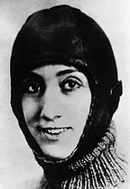 March 18, 1975: (45 years ago) Death of the French aviator Adrienne Bolland, first woman to have crossed the Andes mountain range in 1921.