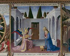 "Fra Angelico (1387-1455). ""L'Annonciation"", 1450-1455. Florence (Italie), musée Saint-Marc. © Alinari/Roger-Viollet"