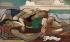 """André Lhote (1885-1962). """"Les baigneuses"""". Huile sur toile, vers 1928. Paris, musée d'Art moderne. © Musée d'Art Moderne/Roger-Viollet"""