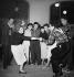 Jean-Louis Barrault, Madeleine Renaud, Boris Vian. Gala des artistes. Paris. Avril 1949. © Studio Lipnitzki/Roger-Viollet