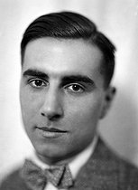 Julien Green (1900-1998), American writer who wrote primarily in French, about 1930. © Henri Martinie / Roger-Viollet