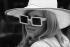 Fashion. Hat and dark glasses. England, 1965-1968. © Roger-Viollet
