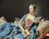 """François Boucher (1703-1770). """"Madame de Pompadour"""". Huile sur toile, vers 1750. Edimbourg (Ecosse), galerie nationale.  © Iberfoto / Roger-Viollet"""