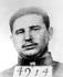 Portrait de Fidel Castro (1926-2016), homme d'Etat et révolutionnaire cubain, à l'époque où il était prisonnier, après son échec dans l'assaut de la caserne de la Moncada, en juillet 1953. Santiago de Cuba (Cuba), musée de la Moncada. © Roger-Viollet