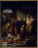 """Charles Durupt (1804-1838). """"Henri III (1551-1589), roi de France, poussant du pied le cadavre du duc de Guise (1549-1588), en 1588"""". Musée de Blois.  © Roger-Viollet"""