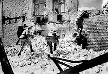 World War II. Russian soldiers at the battle of Stalingrad, September 1942 - February 1943. © Roger-Viollet