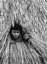 Indigenous man from Amazonia (Brazil). © Roger-Viollet