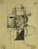 """Jean Metzinger (1883-1956). """"Portrait de Gleizes"""". Paris, musée d'Art moderne. © Musée d'Art Moderne/Roger-Viollet"""