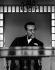 Georges Simenon (1903-1989), écrivain belge. 1964. Photographie de Horst Tappe (1938-2005). © Fondation Horst Tappe / KEYSTONE Suisse / Roger-Viollet