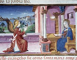 """L'Annonciation"". Enluminure extraite du manuscrit De Predis, 1476. Turin (Italie), bibliothèque royale. © Alinari/Roger-Viollet"