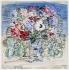 """Raoul Dufy (1877-1953). """"Bouquet d''anémones"""". Aquarelle et gouache sur papier vélin d''Arches, vers 1935. Paris, musée d''Art moderne. © Musée d'Art Moderne/Roger-Viollet"""