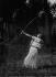 Raymond Duncan Academy. Archery. Return to the Antique life, at Montfermeil, 1913. © Maurice-Louis Branger/Roger-Viollet