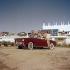 Automobile cabriolet Fiat 1200. Cannes (Alpes-Maritimes), années 1960.  © Ray Halin/Roger-Viollet
