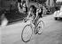 Fausto Coppi (1919-1960), coureur cycliste italien au Giro de Lombardie (Italie), 1949. © Fedele Toscani/Alinari/Roger-Viollet